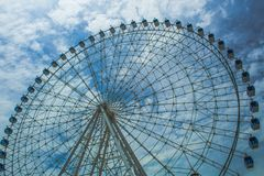 Free Ferris Wheel Called `Rio Star` At Olympic Boulevard In Maua Square. Royalty Free Stock Photo - 165877665