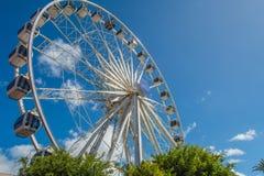 Cape Town waterfront ferris wheel Royalty Free Stock Photo