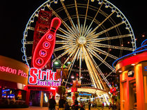 Ferris Wheel in Carnaval Stock Foto's