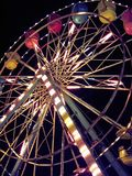 Ferris wheel at carnival. Ferris wheel Royalty Free Stock Photography