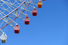 Ferris wheel carnival amusement park Stock Images