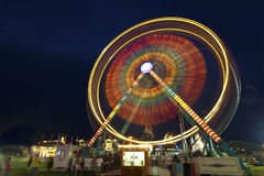 Ferris wheel at the carnival at dark Royalty Free Stock Photos