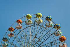 Ferris wheel with carriages. Stock Photography