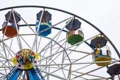Ferris wheel cars at Scarborough, UK Royalty Free Stock Photos