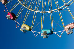 Ferris wheel cars Royalty Free Stock Images