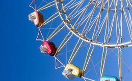 Ferris wheel cars Royalty Free Stock Photo
