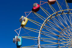Ferris wheel cars Stock Photo
