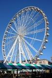Ferris Wheel, Chesterfield, Derbyshire, Reino Unido Imagens de Stock Royalty Free