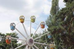 Ferris wheel for children Stock Image