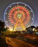 The ferris wheel in the children's Park Stock Photography