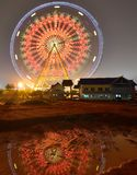 The ferris wheel in the children's Park. Nanning, Guangxi, China Stock Photos