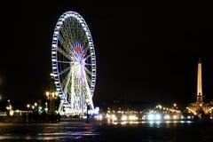 Ferris wheel Christmas in Concorde Square Stock Photo