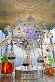 Ferris wheel at Christmas in Hong Kong Stock Photo