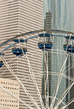 Ferris wheel in the city Royalty Free Stock Image