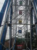 Ferris wheel in a city Park of the city of Kaluga Russia. Stock Photos