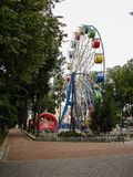Ferris wheel in a city Park of the city of Kaluga Russia. Stock Images