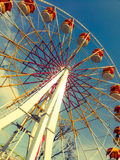 Ferris wheel on clear day. Royalty Free Stock Photo