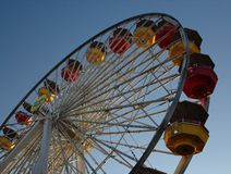 Ferris wheel. A Ferris wheel with a clear sky Stock Images