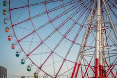 Ferris Wheel close-up royalty free stock images