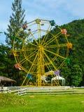 Ferris wheel. Colorful ferris wheel in mountain,Thailand Stock Image