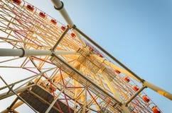 Ferris Wheel Construction fotografía de archivo