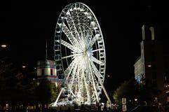 Ferris-wheel in Copenhagen. Ferris-wheel at the Tivoli Gardens, in Copenhagen, Denmark stock photo