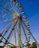 Ferris Wheel at a county fair. Royalty Free Stock Photography