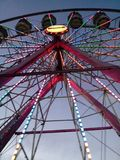 Ferris Wheel at the County Fair royalty free stock photos