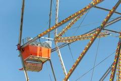 Ferris Wheel d'annata Immagine Stock Libera da Diritti