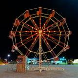 Ferris wheel. 3D CG rendering of a Ferris wheel Royalty Free Stock Photos