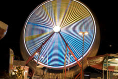 Ferris Wheel at the Date Festival Riverside County Fair Ride The Zipper Stock Images