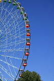 Ferris wheel on day. Huge Ferris wheel on day,blue sky for background Royalty Free Stock Photography