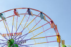 Ferris wheel in day time Royalty Free Stock Image