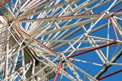 Ferris wheel detail Stock Photos