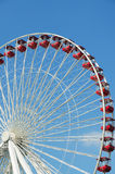 Ferris wheel detail Stock Photography