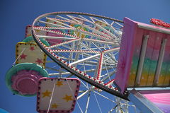 Ferris wheel detail Royalty Free Stock Images