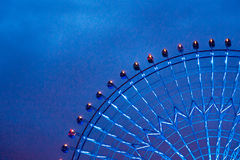 Ferris wheel detail royalty free stock photography