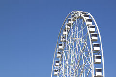 Ferris wheel detail - RAW format Royalty Free Stock Photography