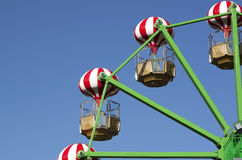 Ferris wheel detail - RAW format Stock Images
