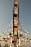 Ferris wheel. From a different perspective the Ferris wheel Stock Images