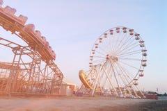 Ferris wheel , dream soft style Stock Image
