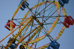 Ferris Wheel. Early morning ferris wheel on the boardwalk at Carolina Beach, NC stock photos