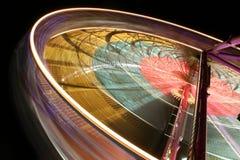 Ferris Wheel. In Edinburgh, Scotland - Long Exposure Stock Photography