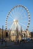 Ferris Wheel en Manchester Fotografía de archivo libre de regalías