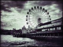 Ferris Wheel en Sydney Fotos de archivo libres de regalías