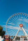 Ferris wheel. In entertainment center Stock Photos