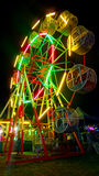 Ferris wheel when evening Royalty Free Stock Image
