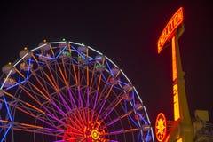 Ferris wheel and evolution Stock Photo