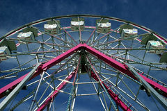 Ferris Wheel at a Fair. A small ferris wheel at a fair in Ontario, Canada Royalty Free Stock Photography