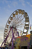 Ferris-wheel at the fair Stock Image